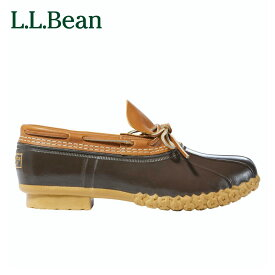 【公式】エルエルビーン エル・エル・ビーン・ブーツ、ラバー・モカシン メンズ 1色 2サイズ