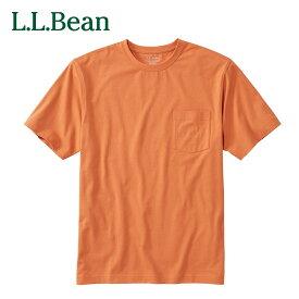 【公式】エルエルビーン ケアフリー・アンシュリンカブル・ティ 半袖 ポケット付き ジャパン・フィット メンズ Tシャツ