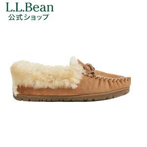 【公式】エルエルビーン ウィケッド グッド シアリング モカシン L.L.Bean LLBean l.l.bean llbean llビーン llbeen 室内靴 室内履き ルームシューズ ムートンスリッパ アウトドア ウィメンズ レディー