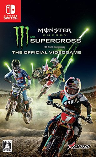 Monster Energy Supercross - The Official Videogame Nintendo Switch版 【新品】【1個までゆうパケット可】【RCP】[201803]