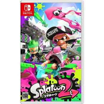 <予約/7月21日発売予定>NintendoSwitchスプラトゥーン2Splatoon2【1個までゆうパケット可】【新品】【RCP】[201707]