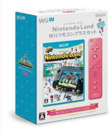 Nintendo Land Wiiリモコンプラスセット (ピンク)-Wii U【新品】【任天堂】