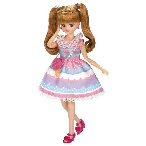 リカちゃん LW-04 カラフルアイスパーティーン【タカラトミー】【ドレス】※人形は別売です