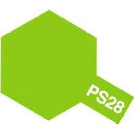 タミヤカラー PS-28 蛍光グリーン ポリカーボネート専用スプレー塗料(ミニ)【RCP】