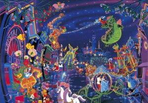 ディズニー150ピース エレクトリカルパレード【ステンドアート】(DS-150-715)【ディズニーパズル】(25x36cm)
