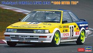 1/24 ウェッズスポーツ カローラ レビン AE92 1989 インターTEC 20531