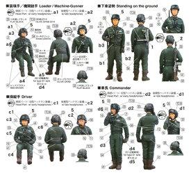 ファインモールド 1/35 陸上自衛隊 戦車乗員セット('65〜'90年代)【FM47】