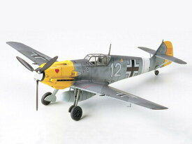 タミヤ 1/72 ウォーバードコレクション No.55 メッサーシュミット Bf109 E-4/7 TROP 【プラモデル】【70655】