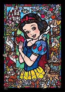 ディズニー ステンドアートジグソー ぎゅっと266ピース 白雪姫 ステンドグラス(DSG-266-957)【ディズニーパズル】(18.2x25.7cm)