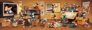456ピース ディズニー 歴代ミッキーマウス大集合! ぎゅっとシリーズ(18.5x55.5cm) (DG-456-735)【ディズニーパズル】
