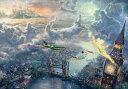 ディズニー1000ピース ピーターパン Tinker Bell and Peter Pan Fly to Never Land スペシャルアートコレクション (D…