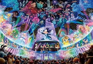 ディズニー1000ピース  ディズニー ウォータードリームコンサート 【ホログラムジグソー】(51x73.5cm)(D-1000-399)【ディズニーパズル】