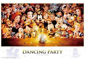 ディズニー1000ピース  ディズニー Dancing Party(D-1000-434)【ディズニーパズル】51x73.5cm