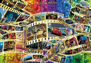 ディズニー1000ピース  ディズニー ピクサー アニメーションヒストリー (51x73.5cm)(D-1000-473)【ディズニーパズル】