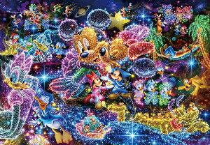 ディズニー500ピース  星空に願いを… ぎゅっとシリーズ【ピュアホワイト】(25x36cm) (DPG-500-592)【ディズニーパズル】