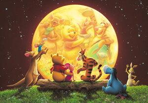 ディズニー300ピース ムーンライトパーティー 【光るジグソー】(30.5×43cm) (D-300-180)【ディズニーパズル】