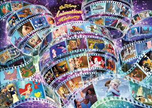 ディズニー300ピース アニメーションヒストリー 【ホログラムジグソー】 (30.5x43cm) (D-300-002)【ディズニーパズル】