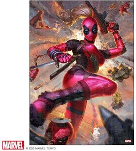 マーベル1000ピース Lady Deadpool【ピュアホワイト】(38.2×53.2cm)(RPG-1000-635)【ディズニーパズル】