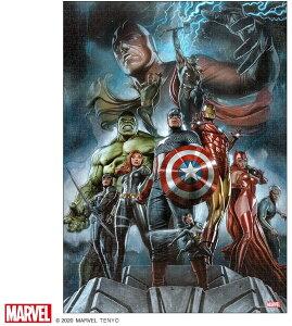 マーベル1000ピース  The Avengers:Earth's Mightest Heroes【ピュアホワイト】(38.2×53.2cm)(RPG-1000-634)【ディズニーパズル】