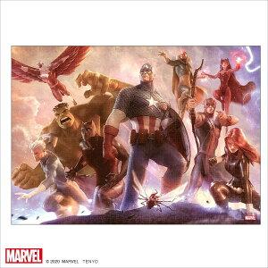 マーベル1000ピース  Avengers Team Cap【ピュアホワイト】(38.2×53.2cm)(RPG-1000-633)【ディズニーパズル】