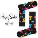ハッピーソックス 靴下 Happy Socks メンズ レディース ブランド ソックス おしゃれ クルー丈 綿混 カラフル カジュアル ビジネス ブラック 黒 マルチカラー ギフト プレゼント 誕生日
