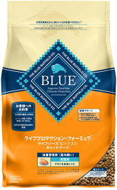 【ポイント14倍!20日限定!※要Wエントリー】 ブルー LPF 成猫用室内飼い 体重管理用 チキン&玄米 2kg キャットフード BLUE BUFFALO 【送料無料】 【正規品】