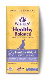 【ポイント16倍!10日限定!※要エントリー】 ウェルネス ヘルシーバランス 体重管理用成犬用(1歳以上) ポーク 12.7kg ドッグフード