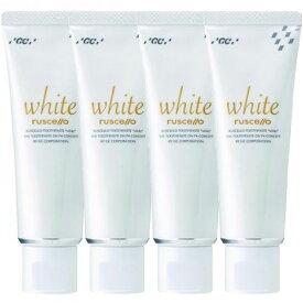 送料無料4個セット まとめ買い GC ルシェロ歯磨きペースト ホワイト 100g 医薬部外品歯科専売品 ジーシー ルシェロ 歯磨き ペースト 歯みがき