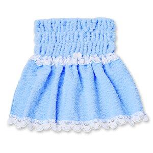 日本が世界に誇る「今治タオル」を使用した、唯一のドッググッズ。ふわふわバスローブピンクブルー