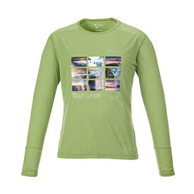 【SALE】KANI オリジナル ロングTシャツ ライトグリーン M