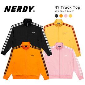 NERDY ノルディ NY Track Top トラック トップ 韓国 ZICO 原宿 メンズ レディース ユニセックス ジャージ nerdy 正規品