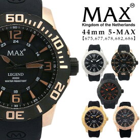 464ed8cecf max XL WATCHES マックス メンズ 腕時計 ラバーバンド シリコンバンド スポーツ ゴールド 5-max 675