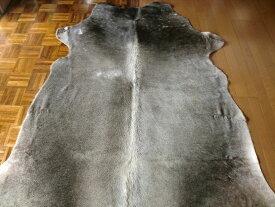 特大カウラグ 綺麗 希少 三毛 トリコロール 約216×203cm ♯牛皮◆ソファーの近くにアニマル ラグマット 厚手 北欧 夏 カーペット 絨毯 【送料無料】