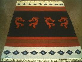ペルー ウール ラグ カーペットWOOL ラグマット 厚手 北欧 夏 カーペット 絨毯 「平和のバグパイプ」約 1.5畳 /送料無料カーペット古代インカ帝国 マチュ ピチュ アルパカ ナスカ 地上絵 遺跡