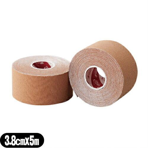 (あす楽対応)(テーピングテープ)ユニコ ゼロテープ ゼロテックス キネシオロジーテープ(UNICO ZERO TEX KINESIOLOGY TAPE) 38mmx5mx1巻 - 伸縮性のある綿布に粘着剤を塗布したキネシオロジーテープ(キネシオテープ)です。