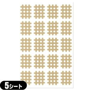 (メール便(日本郵便) ポスト投函 送料無料)(スパイラルの田中)エクセル スパイラルテープ Aタイプ(20ピース)業務用:5シート(100ピース) - 打ち抜きタイプの伸縮性粘着テーピング。【smtb-s