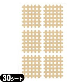 (あす楽発送 ポスト投函!)(送料無料)(スパイラルの田中)エクセル スパイラルテープ Cタイプ(6ピース)業務用:30シート(180ピース) - 打ち抜きタイプの伸縮性粘着テーピング。(ネコポス)【smtb-s】