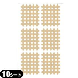 (あす楽発送 ポスト投函!)(送料無料)(スパイラルの田中)エクセル スパイラルテープ Cタイプ(6ピース)業務用:10シート(60ピース) - 打ち抜きタイプの伸縮性粘着テーピング(ネコポス)【smtb-s】