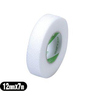 (サージカルテープ)ニチバン(NICHIBAN) スキナゲート メッシュ(SKINERGATE MESH) 12mm×7m×1巻 - 極低刺激不織布テープ。まつげエクステの必需品! 下まつげ固定、目の下の保護、ガーゼの固定などにも