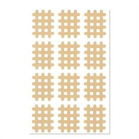 (あす楽発送 ポスト投函!)(送料無料)(スパイラルの田中)エクセル スパイラルテープ Bタイプ(12ピース)業務用:1シート - 打ち抜きタイプの伸縮性粘着テーピング(ネコポス)【smtb-s】