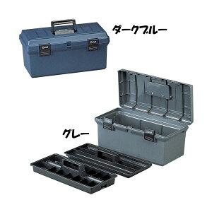 大型インナートレーの2段重ね!ハードケース 500 ダークブルー・グレー[コンテナ/工具箱/工具ケース/ツールボックス/おもちゃ箱/収納/小物 /整理/片付け/アイリスオーヤマ]