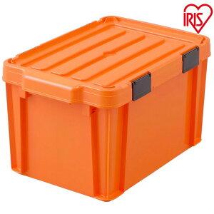 【3個セット】職人の車載ラック専用 密閉バックルコンテナ MBR-21 オレンジ/ブラック[収納ボックス 工具ケース 車載ラックシリーズ アイリスオーヤマ]