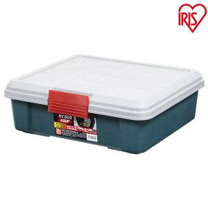 コンテナボックス 蓋付きおしゃれ 収納ボックス 屋外 RVBOX 450F アイリスオーヤマ プラスチック製 収納ケース 工具収納 工具箱 頑丈 釣り 海 レジャー アウトドア キャンプ 丸洗い可能 洗える
