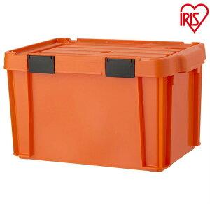 職人の車載ラック専用 密閉バックルコンテナ MBR-21 オレンジ/ブラック[収納ボックス 工具ケース 車載ラックシリーズ アイリスオーヤマ]