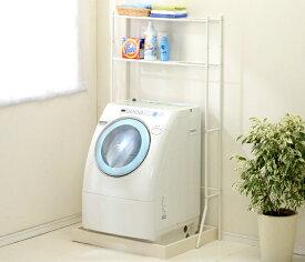 ランドリーラック LR−155V 洗濯機 ラック ホワイト【アイリスオーヤマ】(洗濯用品・洗濯機 ランドリー・洗濯機、洗面台、洗面化粧台、柔軟剤、タオルハンガーに)日用品 [LDRK]49