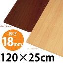 アイリスオーヤマ カラー化粧棚板 LBC-1225 ハニービーチ・ダークオーク5690