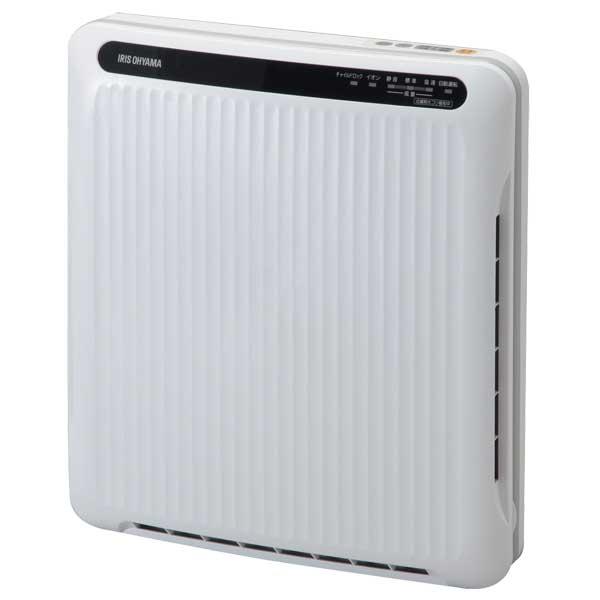 【200円クーポン有】【送料無料】アイリスオーヤマ PM2.5対応 空気清浄機〔ホコリセンサー付〕 PMAC-100-S ホワイト/グレー [SHKS]87