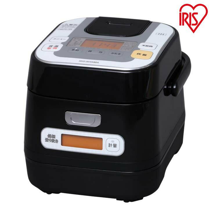 送料無料 米屋の旨み 銘柄量り炊き IHジャー炊飯器 3合 RC-IA30-B アイリスオーヤマ