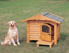 ロッジ犬舎 RK-950【ペット・犬小屋・ハウス・サークル・木製犬小屋・木製ハウス】【アイリスオーヤマ】