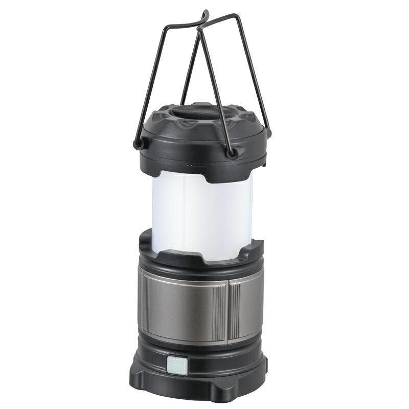 アルミコンパクトランタン LN-MP21A5-S LED キャンプ 釣り 太陽光 手回し 手動 アウトドア 発電 防災 停電対策